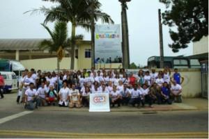Actividad Del Sábado de La Ciudadanía en Florianópolis