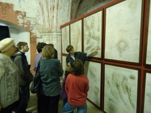 "An international exhibition ""The Genius of Leonardo da Vinci"" in Saint Petersburg"