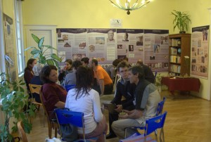 Exhibition and talks in Hunyadi Cultural Center in Budapest