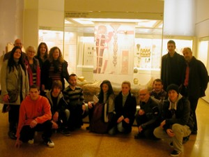 Members and friends of the New Acropolis visited the Egyptian wing of the Archaeological Museum of Athens.