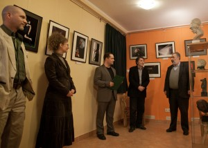 Opening of photo exposition in Hungary
