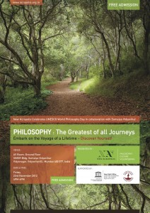 Philosophy the greatest of all journeys