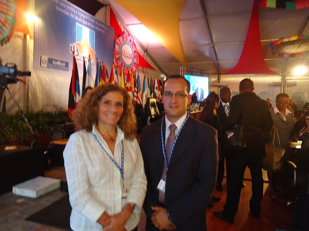 Nueva Acopolis en la OEA