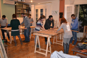 Training woodshop seminar