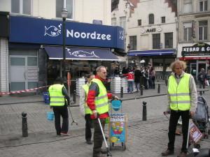 Journée de la propreté à Bruxelles