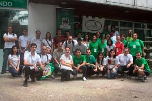 Acción social en la comunidad de lo Salgueiro en Rio de Janeiro
