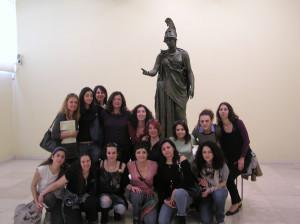 Visit at the museum of Piraeus