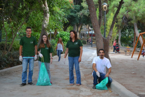 Voluntary Ecological Action at the center of Heraclion