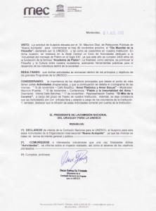 Resolución-UNESCO-Dia-de-la-Filosofía-2013