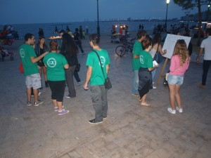 """Thessaloniki: Happening in the White Tower """"for a better world"""""""