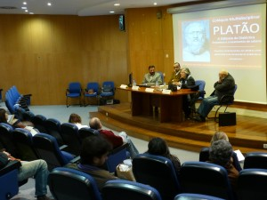 Homenaje a Platón en la Universidad de Lisboa