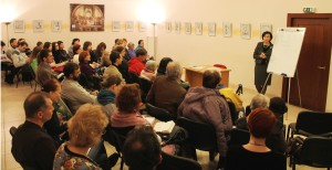 Lecture about Plato Academy, Kyiv