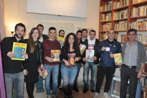 COMIC-SHARING for the first time in Larissa!