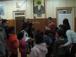 Visita a un orfanato en Bulgaria