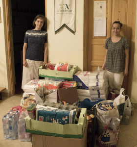 Aid package to flood victims in Serbia_2014