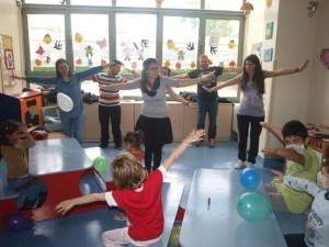 Thessaloniki – Egnatia: Volunteering action in hospital.