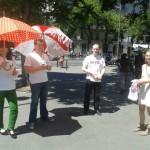 Nouvelle Acropole Paris 5 - les parapluies de la sagesse