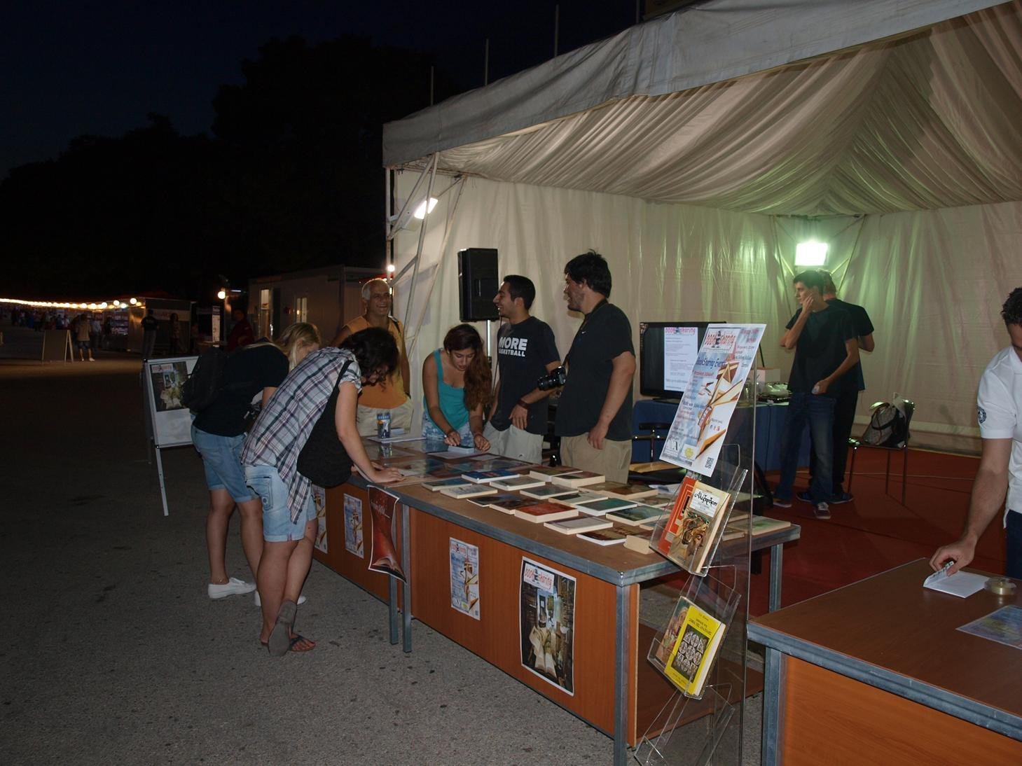 Book fair in Zappeion - Athens - Νέα Ακρόπολη