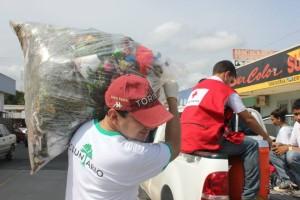 Limpieza de calles en Chitré - Voluntariado en Panamá - 3