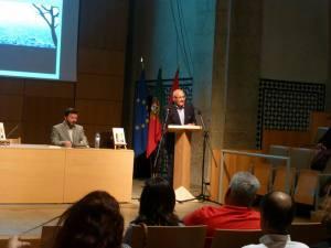 El Prof. Juan Manuel de Faramiñán durante su intervención
