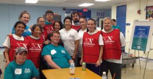 NA Volunteers with Epic leaders