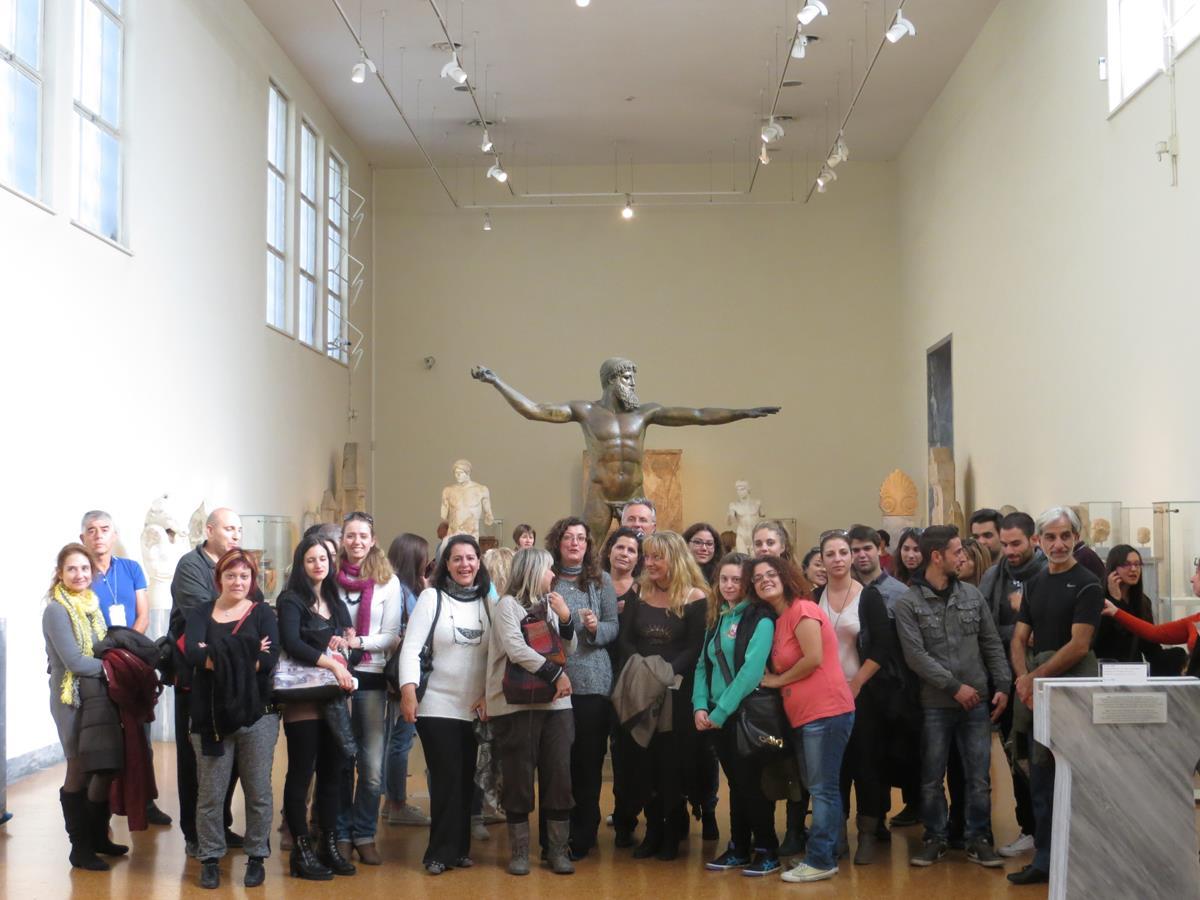 New Acropolis - Επίσκεψη στο αρχαιολογικό μουσείο