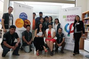 Actividad en Centro Cultural celebrando El Día Internacional de la Filosofía