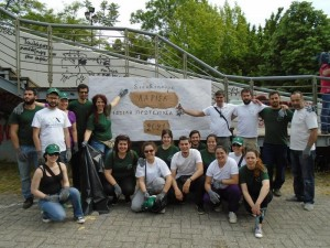 Let's clean up europe - Nea acropoli Larisas