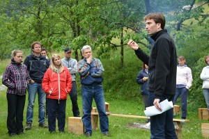 Orienteering workshop, Slovenia