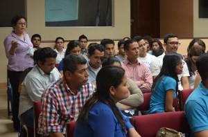 participantes del Taller de Manejo de entrevistas