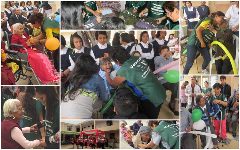 Voluntariado Nueva Acrópolis Perú - Trujillo - Hogar de ancianos San Jose