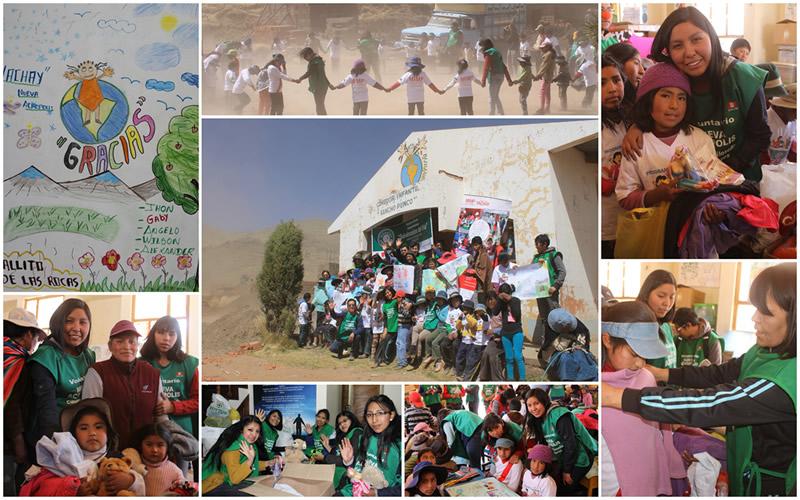 Voluntariado Nueva Acrópolis Perú en Puno - Campaña Friaje