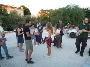 Athens street happening