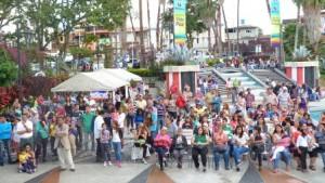 En la Plaza Las Heroínas