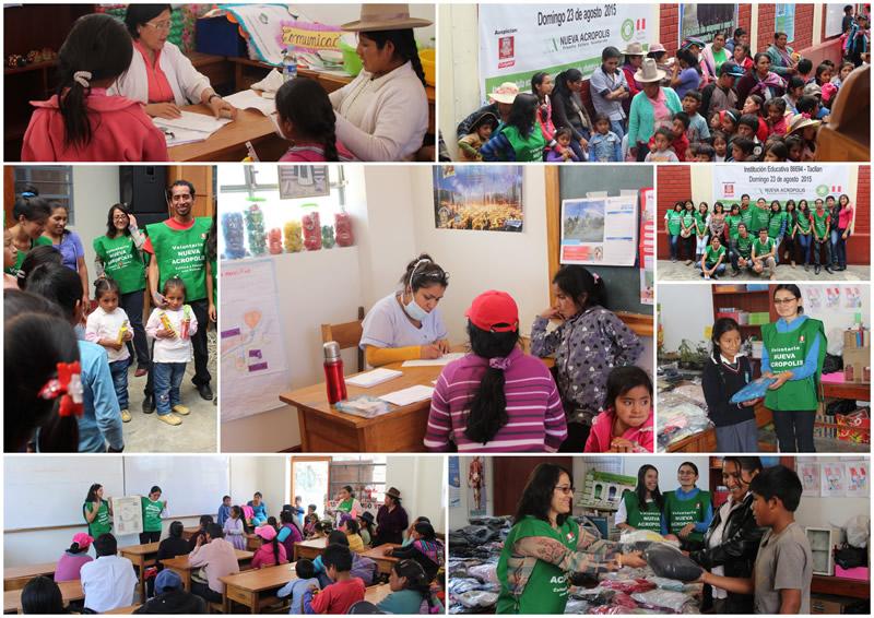 Atención en Educación y Salud en Tacllán (Huaraz – Perú)