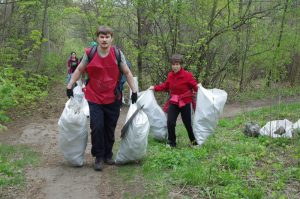 Ecological activity in Kharkiv branch