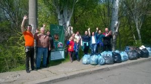 Ecological activity in Mykolaiv branch