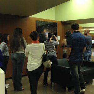 Philosophy students visit the Planetarium of Brasilia