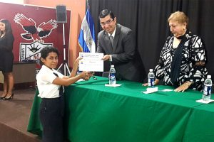 Awards Ceremony for the Competition Tales and Poetry, Oriental Section (El Salvador)