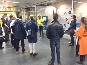 Hero Ehibition at Munich metro station University