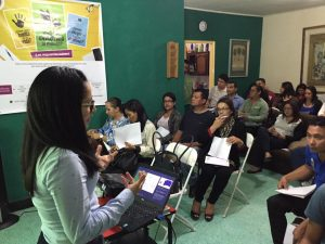 Lecture: 'Fall in love with yourself' (Tegucigalpa, Honduras)