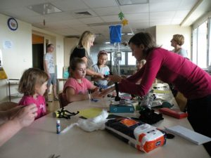 art classes for young patients