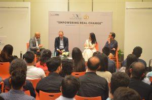 """""""Por un cambio real"""" debate en colaboración con el periódico Indian Express (Mumbai, India)"""