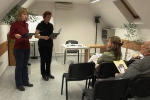 "Conferencia ""La magia de la palabra "" (Bratislava, Eslovaquia)"