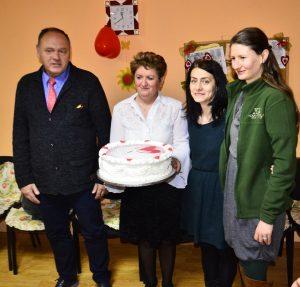 """Celebración del """"Día de Dragobete"""" en una residencia de ancianos (Timisoara, Rumanía)"""