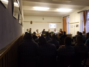 Poetic and musical program at the local prison in Győr (Hungary)