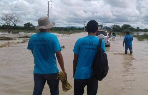 New Acropolis Peru volunteers come together to help the population in the face of natural disasters (Peru)