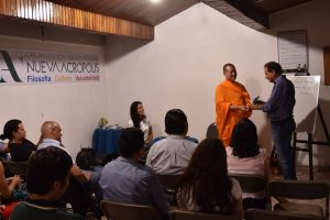 Workshop on Buddhism and meditation (Tegucigalpa, Honduras)