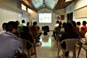 "Lecture: ""Effects of climate change"" (Tegucigalpa, Honduras)"