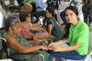 """Visita al hogar de ancianos """"Nuestra Señora de Guadalupe"""" (San Pedro Sula, Honduras)"""